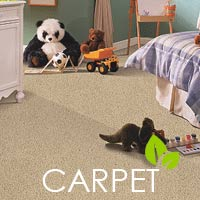 Be kind to your planet - stop by to see our selection of eco-friendly carpet.