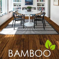 Be kind to your planet - stop by to see our selection of eco-friendly bamboo flooring.