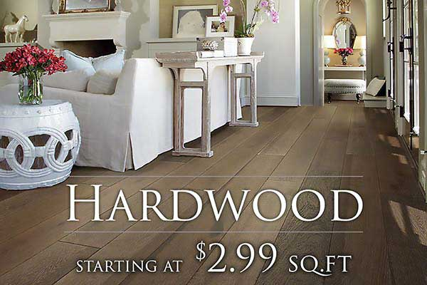 Hardwood Flooring starting at $2.99 sq.ft. at FloorCo Design Center in Oklahoma City
